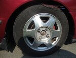 028 WHEELS - wire hanging down from right front wheel well.jpg
